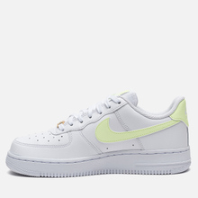 Женские кроссовки Nike Air Force 1 '07 White/Barely Volt/White/White фото- 5