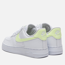 Женские кроссовки Nike Air Force 1 '07 White/Barely Volt/White/White фото- 2