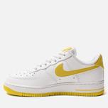 Женские кроссовки Nike Air Force 1 '07 White/Bright Citron фото- 1