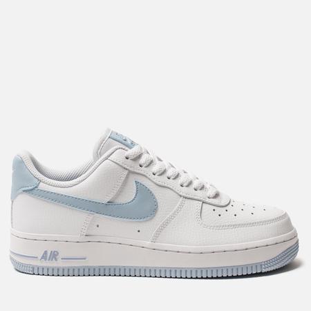 Женские кроссовки Nike Air Force 1 '07 White/Light Armory Blue