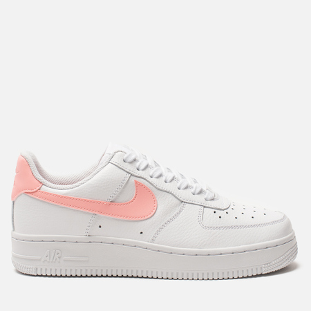 Женские кроссовки Nike Air Force 1 '07 White/Oracle Pink/White