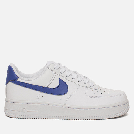 Женские кроссовки Nike Air Force 1 '07 White/Rush Violet/White