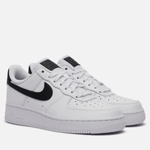 Женские кроссовки Nike Air Force 1 '07 White/White/Black фото- 0