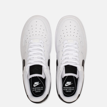 Женские кроссовки Nike Air Force 1 '07 White/White/Black фото- 1