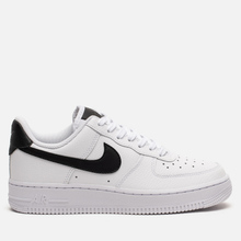 Женские кроссовки Nike Air Force 1 '07 White/White/Black фото- 3