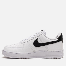 Женские кроссовки Nike Air Force 1 '07 White/White/Black фото- 5