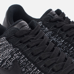Женские кроссовки Nike Air Force 1 Flyknit Low Black/Black/White фото- 5