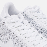 Женские кроссовки Nike Air Force 1 Flyknit Low White/White/Black фото- 5