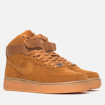 Женские кроссовки Nike Air Force 1 Hi Suede Tawny/Tawny фото- 1