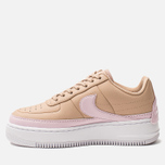 Женские кроссовки Nike Air Force 1 Jester XX Bio Beige/Pink Force/White фото- 1