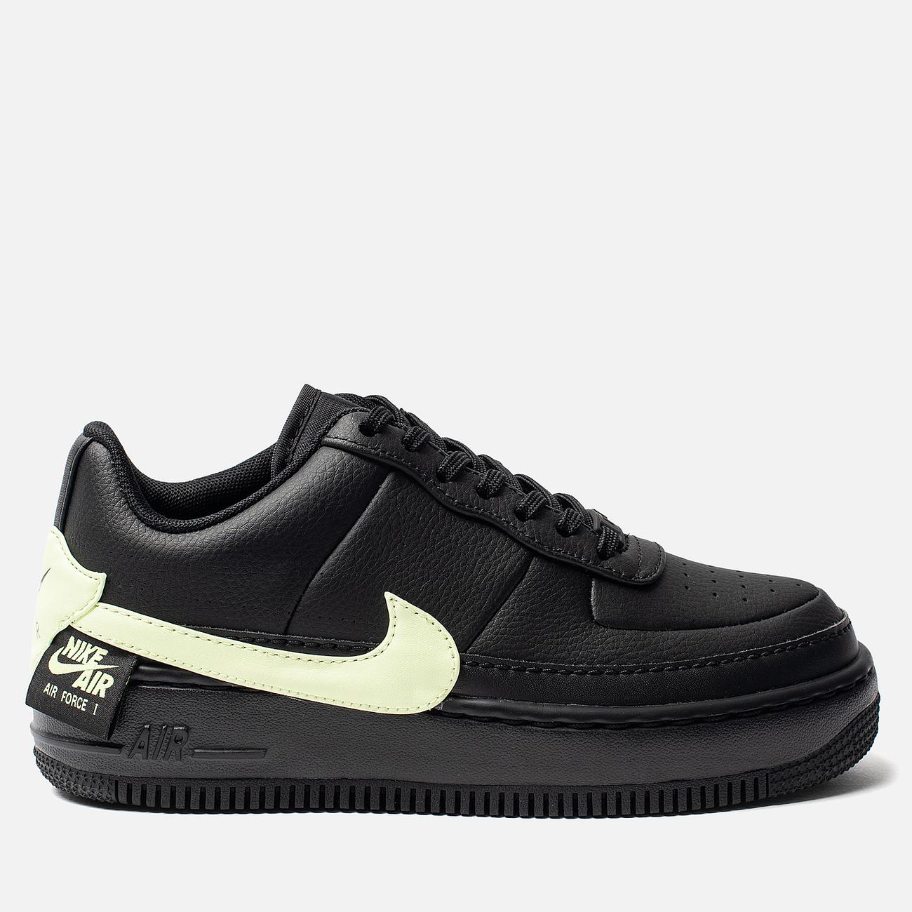 Женские кроссовки Nike Air Force 1 Jester XX Black/Barely Volt