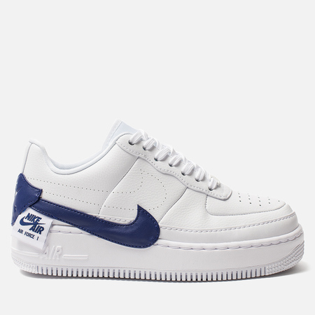 Женские кроссовки Nike Air Force 1 Jester XX White/Regency Purple