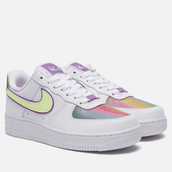 Женские кроссовки Nike Air Force 1 Low Easter 2020 White/Barely Volt/Hyper Blue