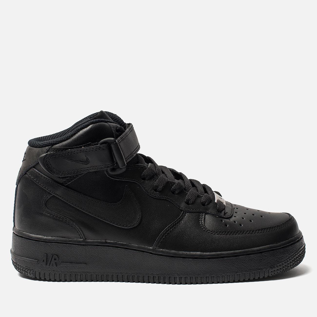 Женские кроссовки Nike Air Force 1 Mid '07 Black