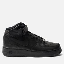 Женские кроссовки Nike Air Force 1 Mid '07 Black фото- 0