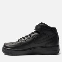 Женские кроссовки Nike Air Force 1 Mid '07 Black фото- 2