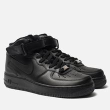 Женские кроссовки Nike Air Force 1 Mid '07 Black фото- 1
