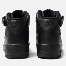 Женские кроссовки Nike Air Force 1 Mid '07 Black фото- 3