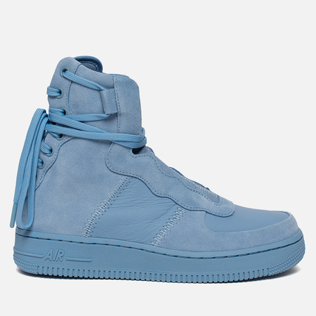 Женские кроссовки Nike Air Force 1 Rebel XX Light Blue/Light Blue