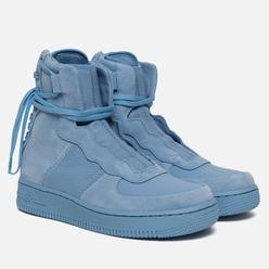 Женские кроссовки Nike Air Force 1 Rebel XX Light Blue/Light Blue