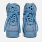 Женские кроссовки Nike Air Force 1 Rebel XX Light Blue/Light Blue фото - 2