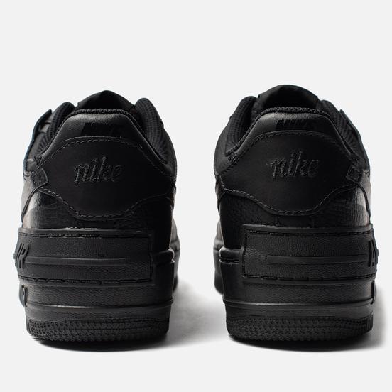 Женские кроссовки Nike Air Force 1 Shadow Black/Black/Black