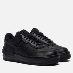 Женские кроссовки Nike Air Force 1 Shadow Black/Black/Black