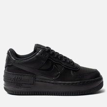 Женские кроссовки Nike Air Force 1 Shadow Black/Black/Black фото- 3