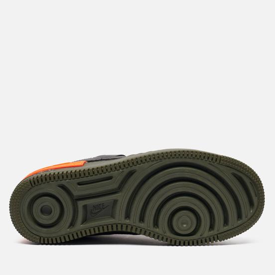 Кроссовки Nike Wmns Air Force 1 Shadow SE Black/Black/Hyper Crimson/Cargo Khaki