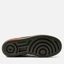 Женские кроссовки Nike Air Force 1 Shadow SE Black/Black/Hyper Crimson/Cargo Khaki фото- 4