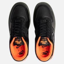 Женские кроссовки Nike Air Force 1 Shadow SE Black/Black/Hyper Crimson/Cargo Khaki фото- 1