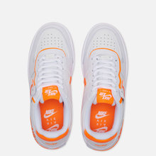 Женские кроссовки Nike Air Force 1 Shadow White/Summit White/Total Orange фото- 1