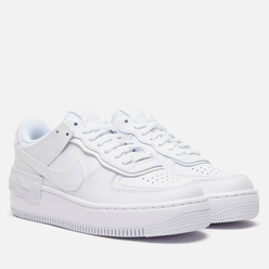 Женские кроссовки Nike Air Force 1 Shadow White/White/White