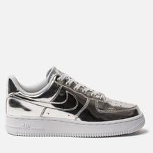 Женские кроссовки Nike Air Force 1 SP Chrome/Metallic Silver/White фото- 3