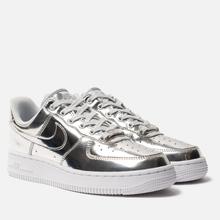 Женские кроссовки Nike Air Force 1 SP Chrome/Metallic Silver/White фото- 0