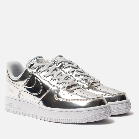 Женские кроссовки Nike Air Force 1 SP Chrome/Metallic Silver/White