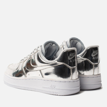 Женские кроссовки Nike Air Force 1 SP Chrome/Metallic Silver/White фото- 2