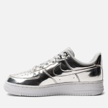 Женские кроссовки Nike Air Force 1 SP Chrome/Metallic Silver/White фото- 5