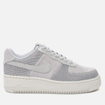 Женские кроссовки Nike Air Force 1 Upstep Premium Metallic Platinum/Pure Platinum фото- 0