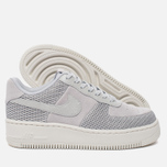 Женские кроссовки Nike Air Force 1 Upstep Premium Metallic Platinum/Pure Platinum фото- 1