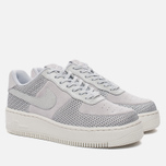 Женские кроссовки Nike Air Force 1 Upstep Premium Metallic Platinum/Pure Platinum фото- 2