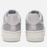 Женские кроссовки Nike Air Force 1 Upstep Premium Metallic Platinum/Pure Platinum фото- 3