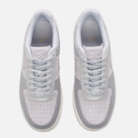 Женские кроссовки Nike Air Force 1 Upstep Premium Metallic Platinum/Pure Platinum фото- 4