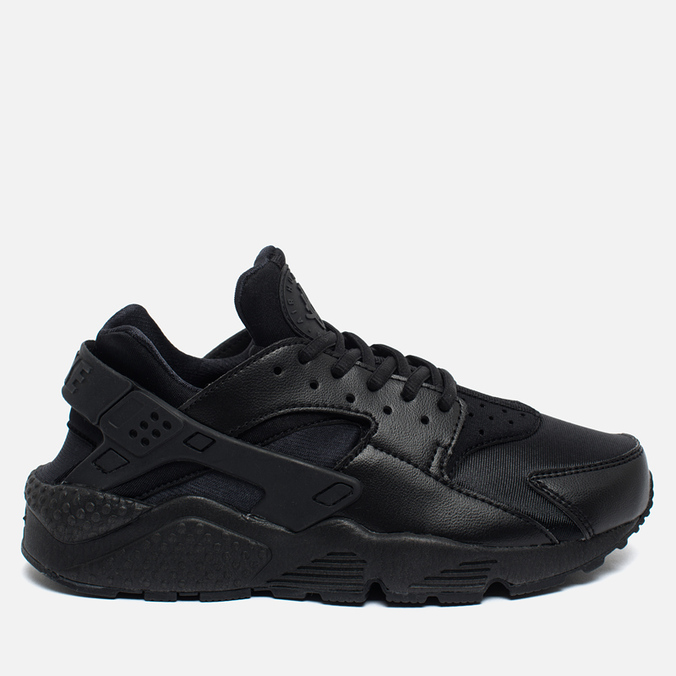 Женские кроссовки Nike Air Huarache Run Black/Black