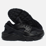 Nike Air Huarache Run Women's Sneakers Black/Black photo- 2