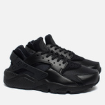 Nike Air Huarache Run Women's Sneakers Black/Black photo- 1