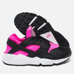 Женские кроссовки Nike Air Huarache Run Black/Pink Blast/White фото- 2