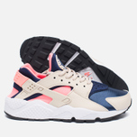 Женские кроссовки Nike Air Huarache Run Oatmeal/Binary Blue/Lava Glow фото- 1