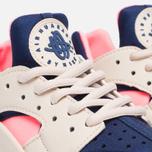 Женские кроссовки Nike Air Huarache Run Oatmeal/Binary Blue/Lava Glow фото- 5