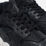 Женские кроссовки Nike Air Huarache Run Premium Black/Light Bone/Dark Grey фото- 3